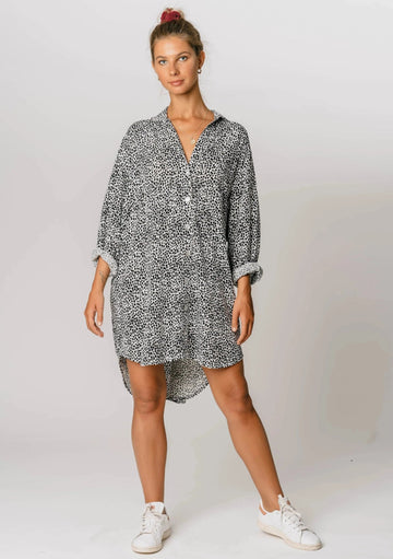 Sweet Sunday Shirt Dress