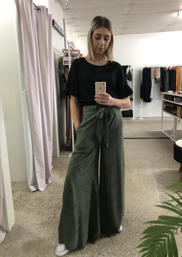 Flare Up Pants