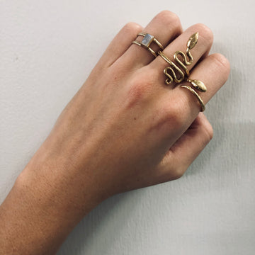 Serpent Ring Long