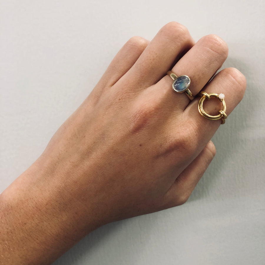 Gold Jewel Ring