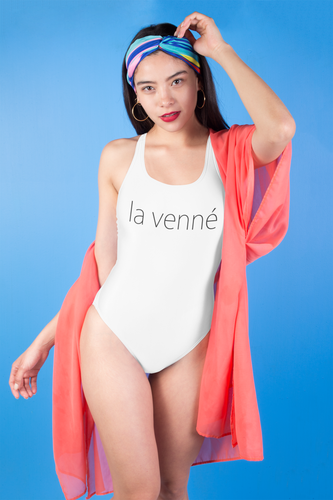 La Venne One-piece Swimwear (white)