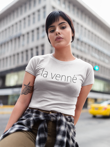 La Venne Crop Top (white)