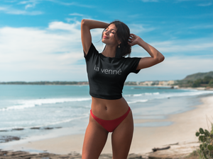 La Venne Crop Top (black)