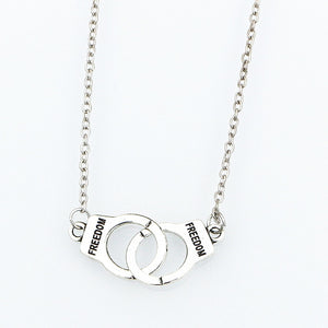New Handcuff Necklace - la venné - (SUB)