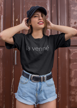 Load image into Gallery viewer, La Venne Tee (black)