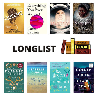 Living the Dream and A Book of Secrets longlisted for the Diverse Book Awards