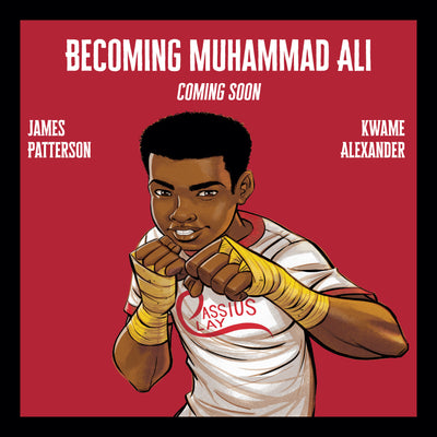 Jacaranda to release Muhammad Ali illustrated memoir by James Patterson and Kwame Alexander