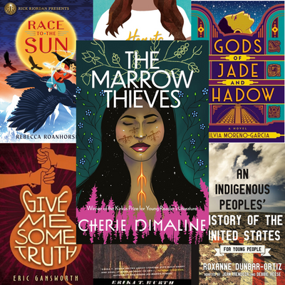 Editor Cherise Lopes-Baker shares her Indigenous YA recommendations