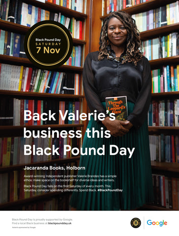 Valerie Brandes, Black Pound Day and Google ad campaign