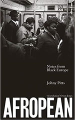 Book cover for Afropean by Johny Pitts