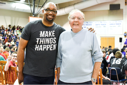 James Patterson and Kwame Alexander
