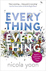 Book cover for Everything Everything by Nicola Yoon