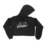 Rise of the Villain Crop Hoodie