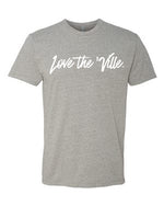 Love the 'Ville Dark Heather Grey Unisex T-shirt