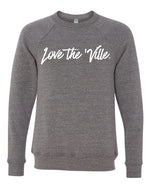 Love the 'Ville Grey Unisex Triblend Sweatshirt