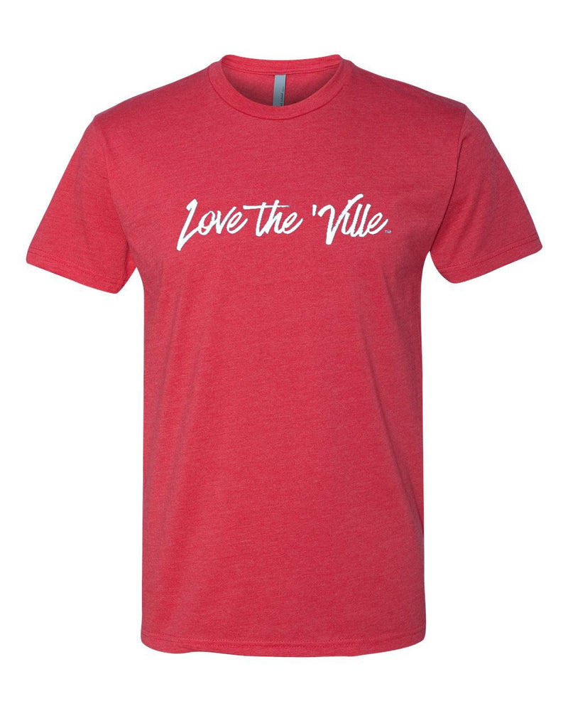 Love the 'Ville Red Unisex T-shirt