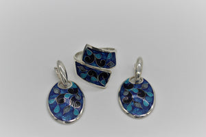 Sets - Cloisonne,silver, limited edition