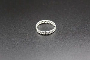 chain ring,white