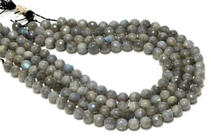 Wholesale 8mm Round Natural Labradorite Loose Gemstone Beads DIY Jewelry Beading
