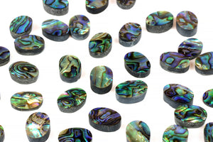 Oval Abalone Gemstone 10x14mm Smooth Loose Cabochon Wholesale Jewelry Supplies