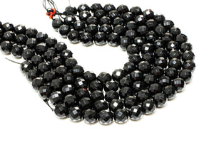 "Natural Black Onyx Gemstones Loose Gem Round Beads 16"" 3mm 4mm 6mm 8mm 10mm 12mm"
