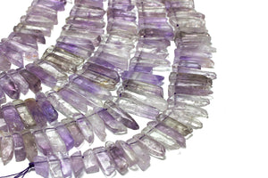 Natural Ametrine Gemstone Beads Smooth Long Rectangle Slices Quartz Wholesale