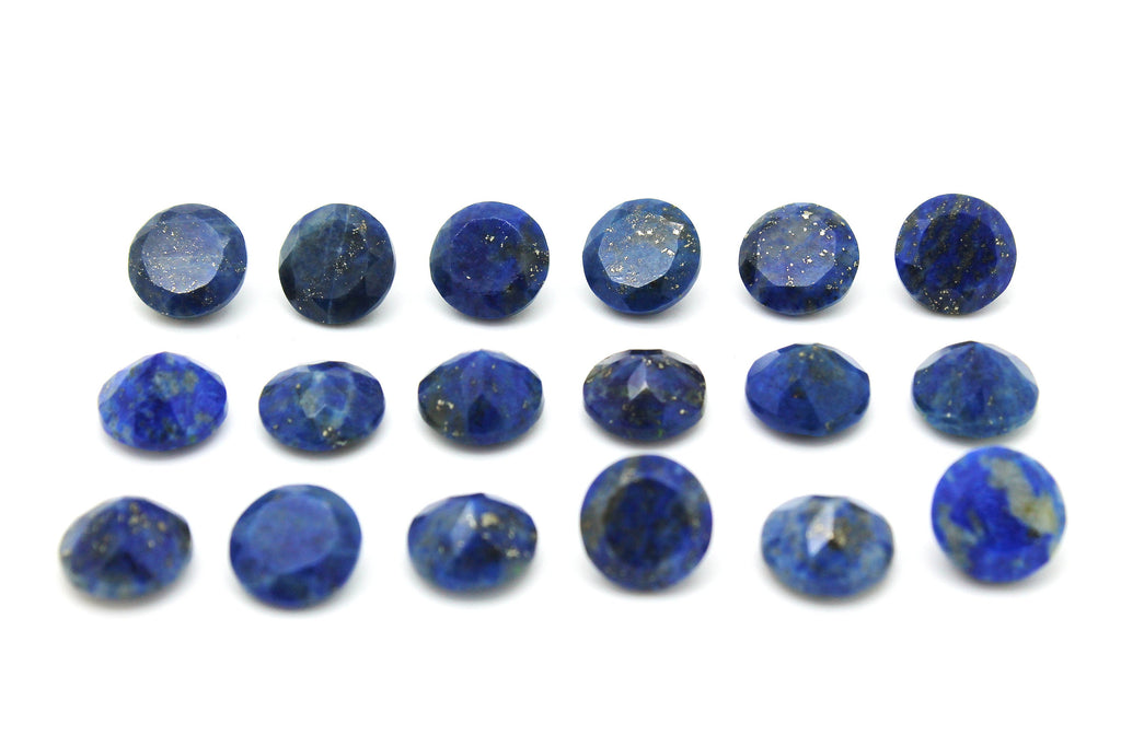 AA Quality Blue Natural Round Gem Lapiz Lazuli Quartz Crystal Wholesale Gemstone