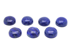 Natural Lapis Lazuli Loose Round Smooth Cabochon Gemstone DIY Jewelry Wholesale