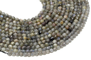 10mm Natural AA Labradorite Loose Spacer Gemstone Beads Bulk Sale Jewelry Making
