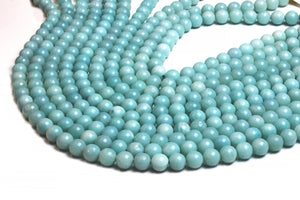Natural 2mm Amazonite Beads Round Smooth Loose Gemstone Jewelry Making Supply