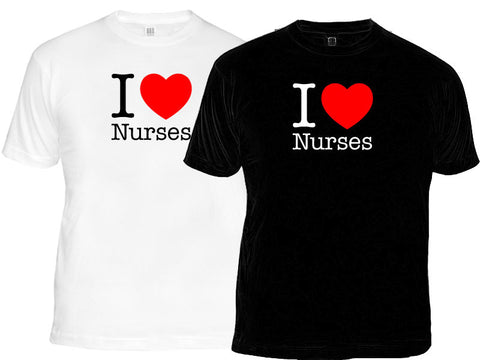 I Love Nurses T-Shirt