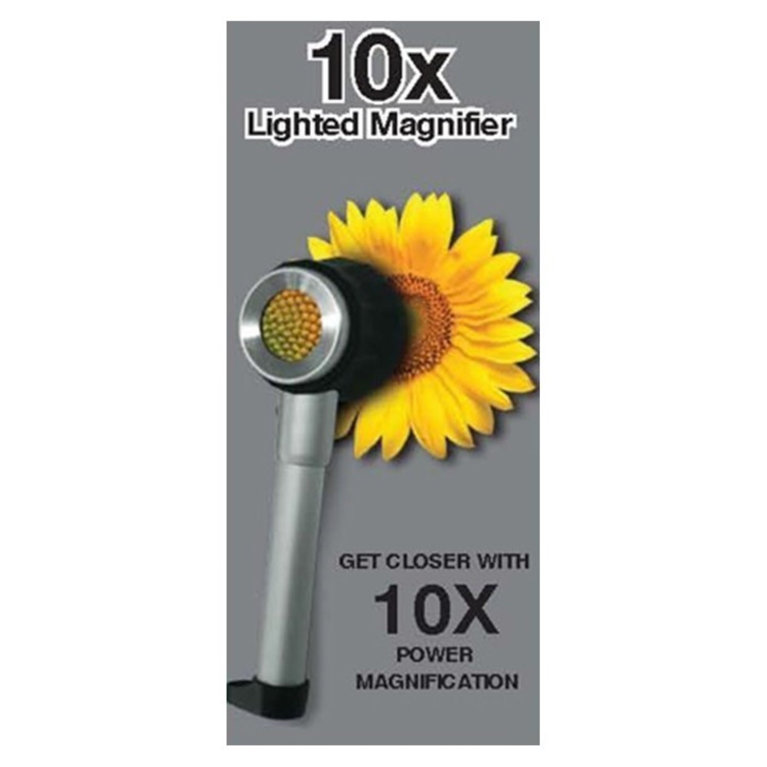ARNOTTS The 10X 3 LEDs Lighted Magnifier