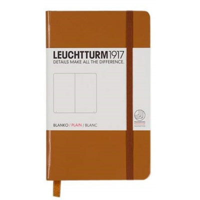 Leuchtturm Notebook Hardcover A6 (90 X 150mm) Plain / Blank