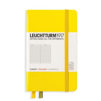 Leuchtturm Notebook Hardcover A6 (90 X 150mm) Squared / Gridded