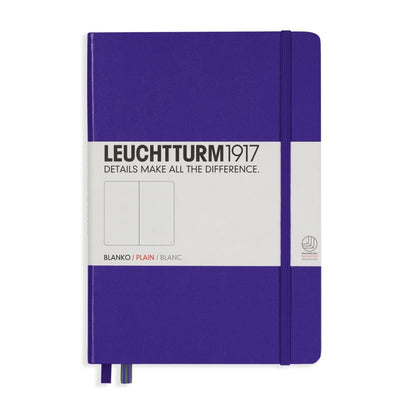 Leuchtturm Notebook Hardcover A5 (145 X 210mm) Plain / Blank