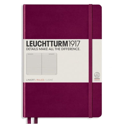 Leuchtturm Notebook Hardcover A5 (145 X 210mm) Lined / Ruled