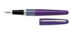 Pilot M.R. Fountain Pen Ellipse VIOLET Metropolitan FP-MR3