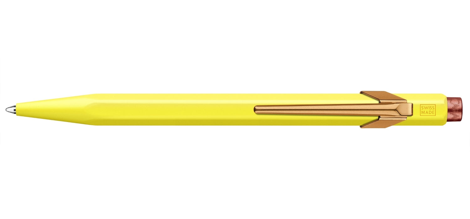 Caran dAche 849 Claim Your Style 2 Ball Pen BP Canary Yellow