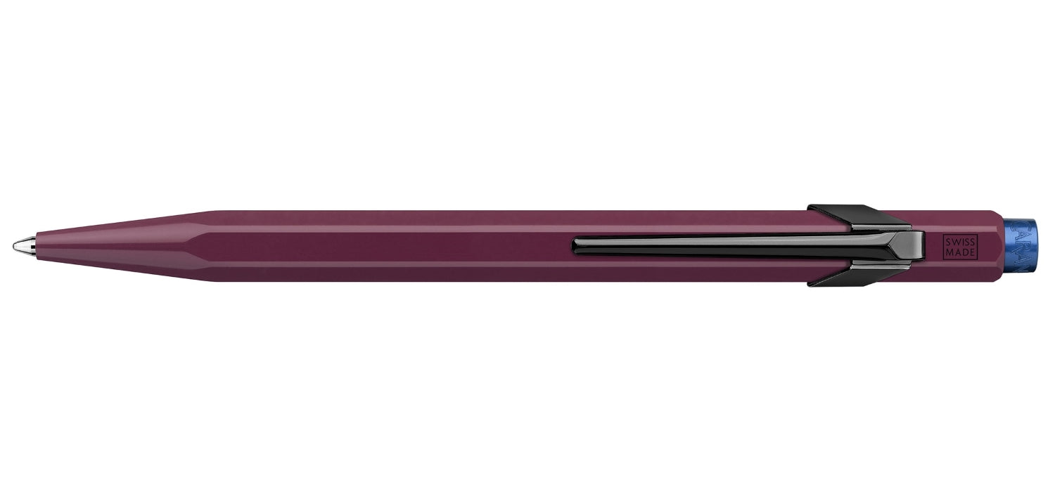 Caran dAche 849 Claim Your Style 2 Ball Pen BP Burgundy