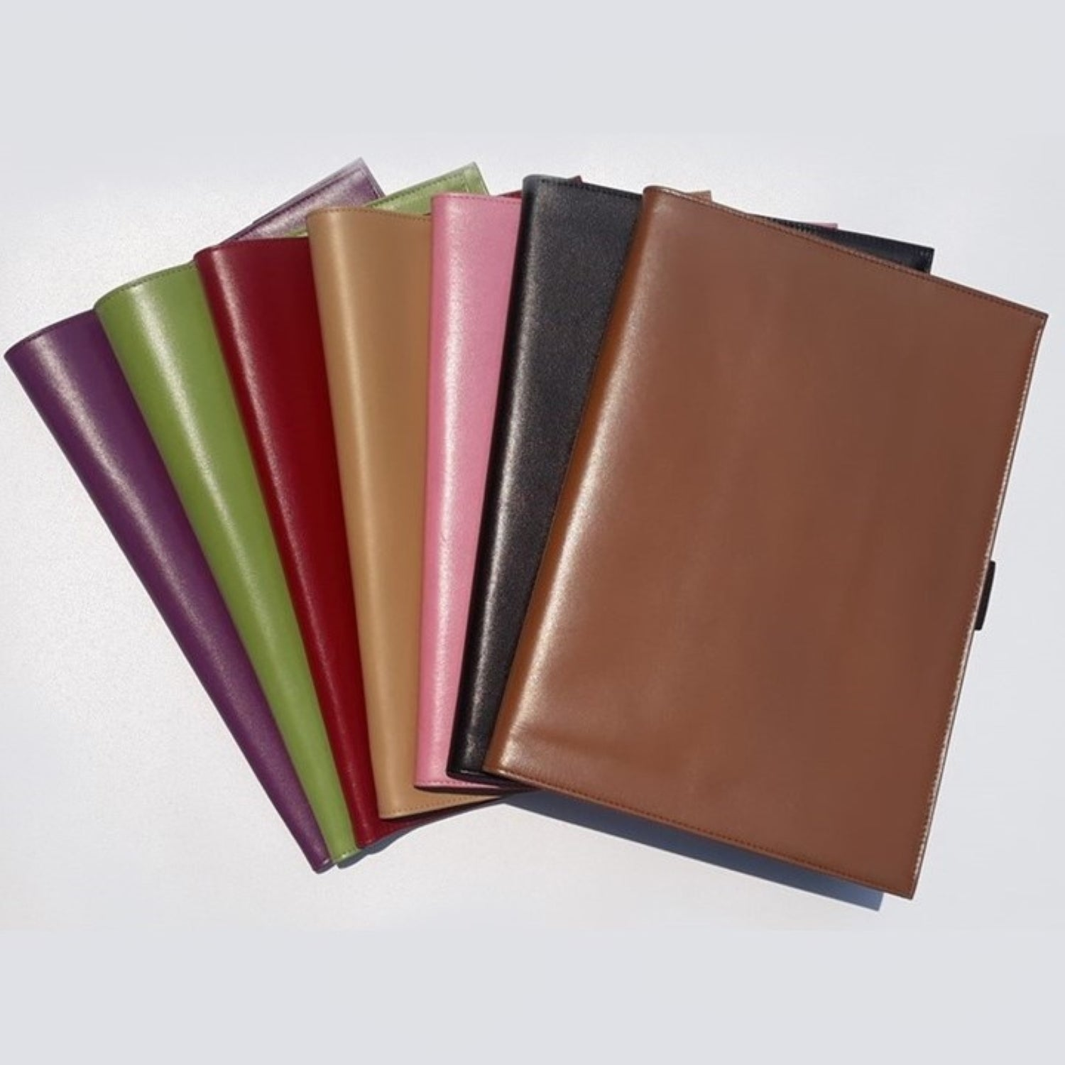 VISENTIN Leather Notebook Cover A4 Smooth