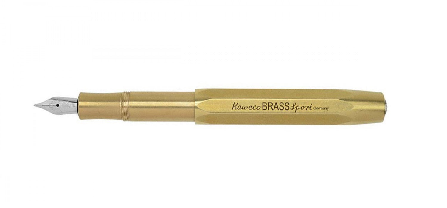 Kaweco BRASS Sport FP Fountain Pen