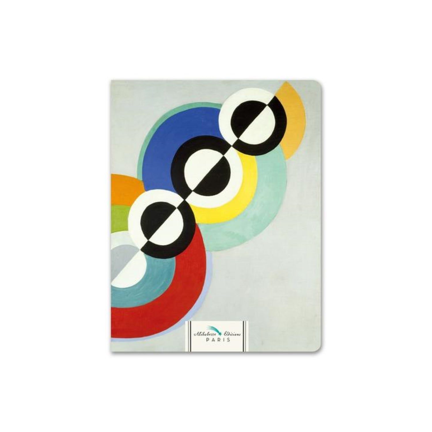 Alibabette Editions Composition Book A5 Lined - Rythme by Delaunay
