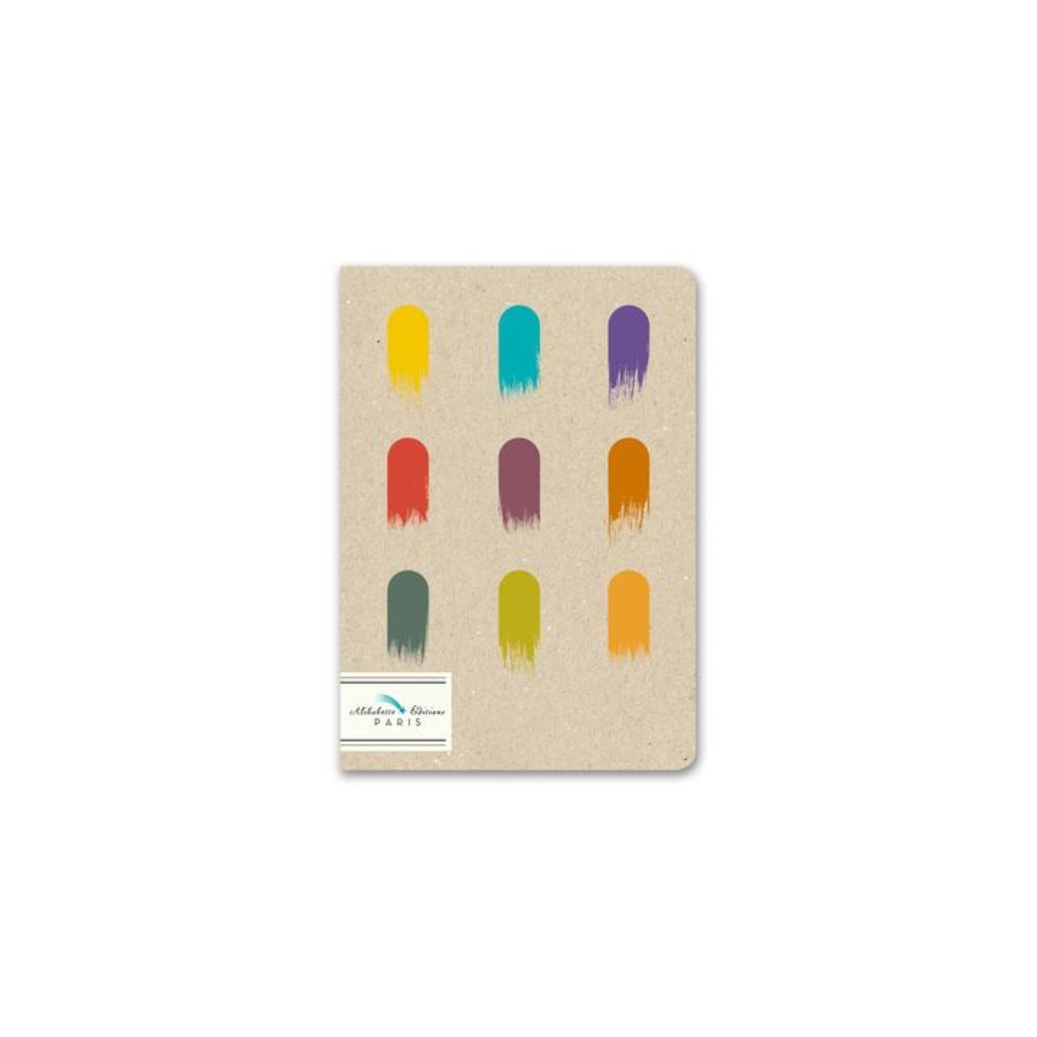 Alibabette Editions Composition Book B6 Plain - Gouaches
