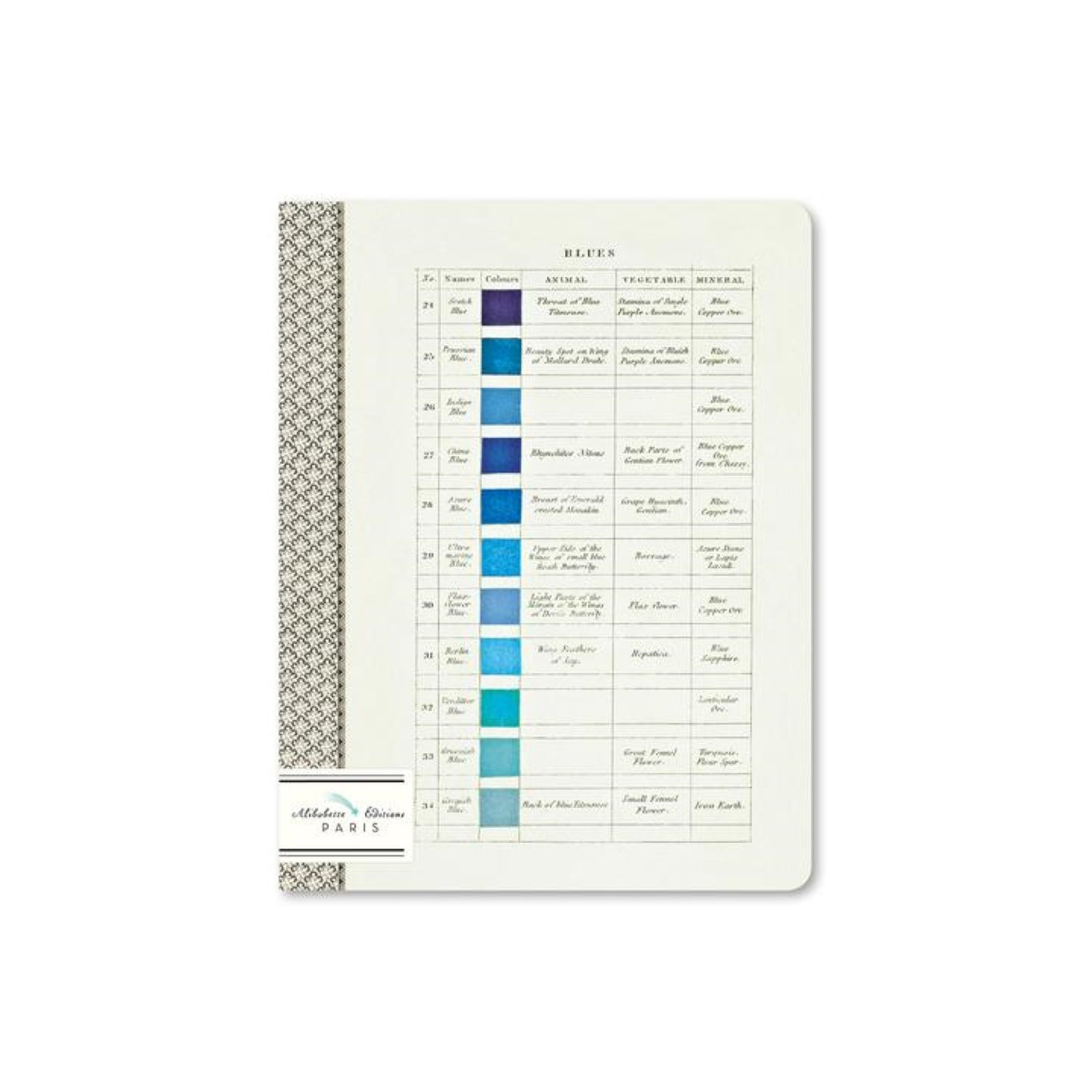 Alibabette Editions Composition Book A5 Lined - Werner