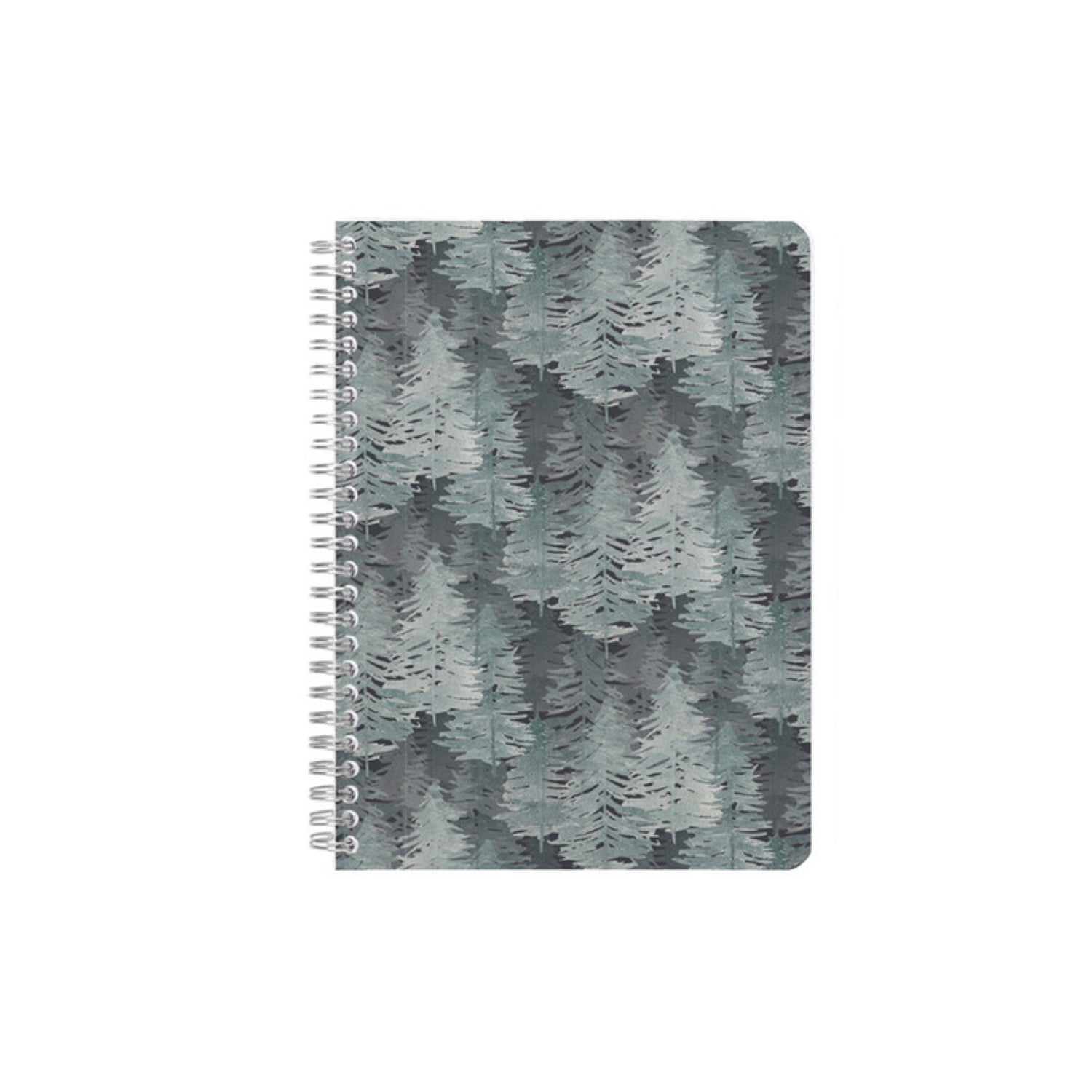 Clairefontaine La Vie en Vosges Collection Notebook Spiral Bound A5 Ruled - Forest