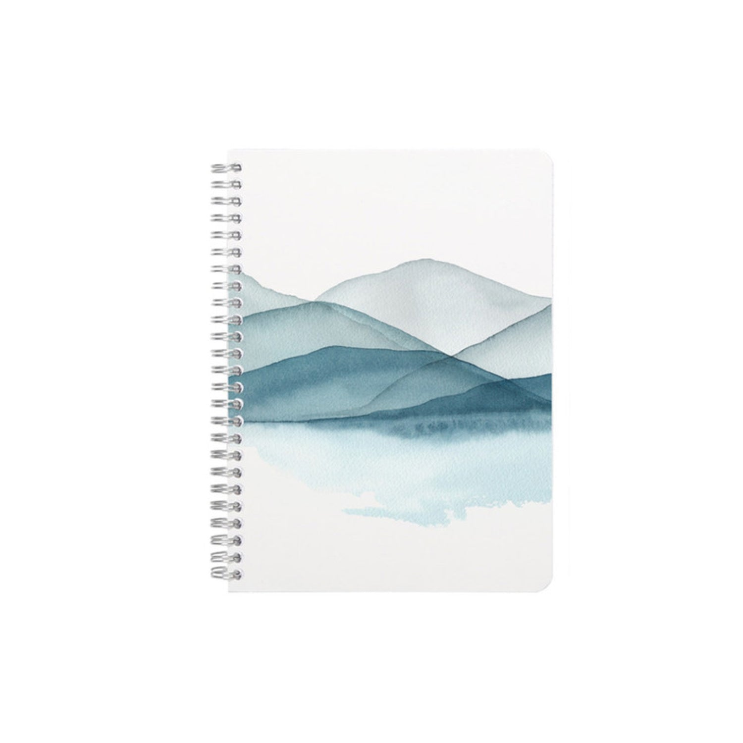Clairefontaine La Vie en Vosges Collection Notebook Spiral Bound A5 Ruled - Landscape