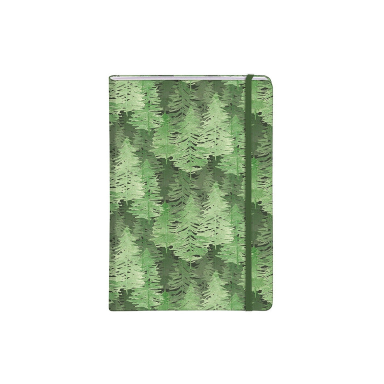 Clairefontaine La Vie en Vosges Collection Notebook Hardcover A5 Ruled - Forest