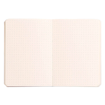 RHODIARAMA Soft Black Cover A6 90x140mm DOTS GRID