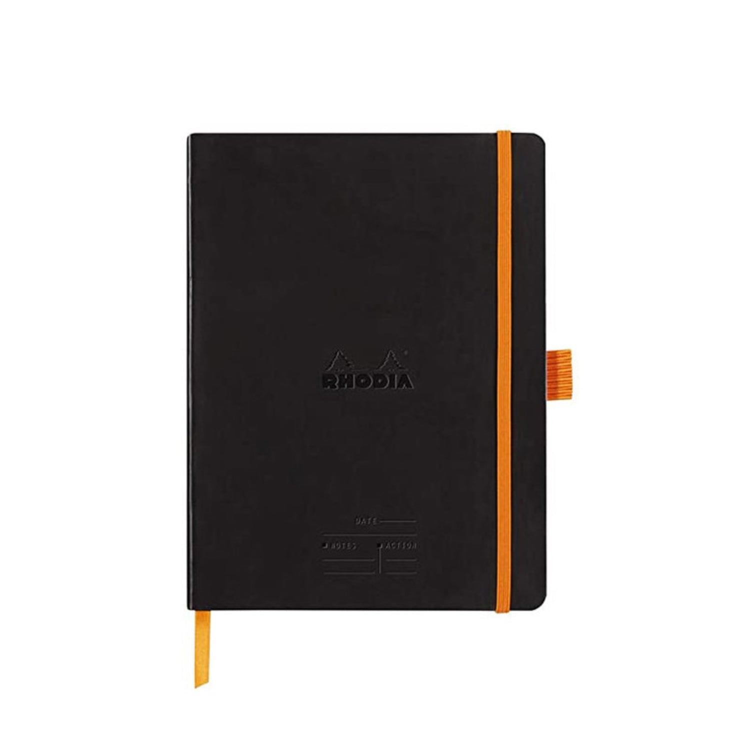 Rhodia Meeting Book A5 Ruled Soft Cover Black
