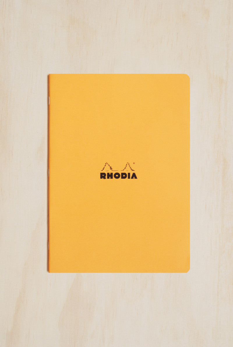RHODIA CAHIER SIDE STAPLED A4 210x297mm LINED
